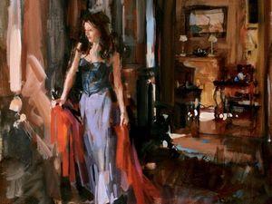 Женский образ в картинах канадского художника Paul Hedley: подборка из 30 картин. Ярмарка Мастеров - ручная работа, handmade.