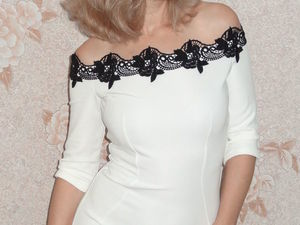 """Скидка на пошив платья """"Вечер в Париже"""". Ярмарка Мастеров - ручная работа, handmade."""