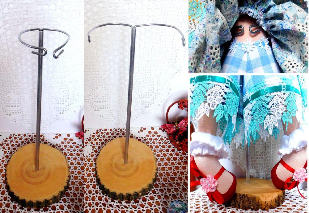 интерьерная кукла, подставка для кукол