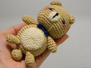 Мастер-класс по вязанию котенка амигуруми | Ярмарка Мастеров - ручная работа, handmade