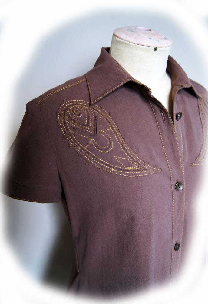 Не просто платье-рубашка, фото № 5