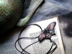 The Process of Making a Moth of Polymer Clay. Livemaster - handmade