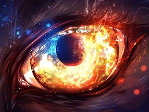 Упражнение «Огонь в глазах». Ярмарка Мастеров - ручная работа, handmade.
