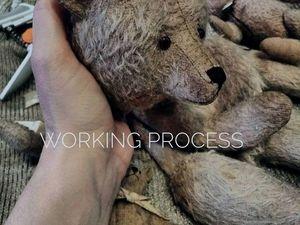 Как рождался медведь Gunter. Ярмарка Мастеров - ручная работа, handmade.