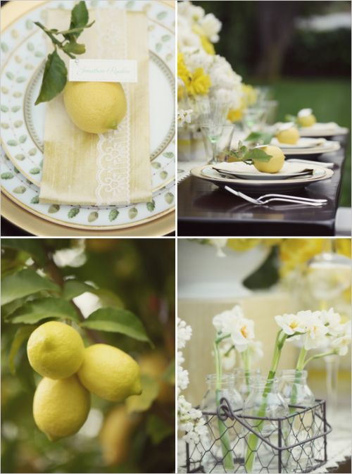 лимонный, брошь