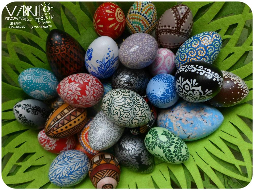 пасха, яйца, архив, пасхальный декор