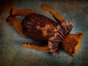 Golden bear. Ярмарка Мастеров - ручная работа, handmade.