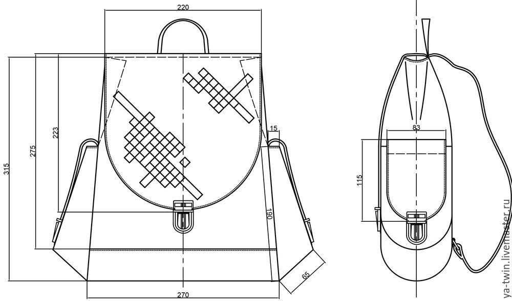 проектирование сумок