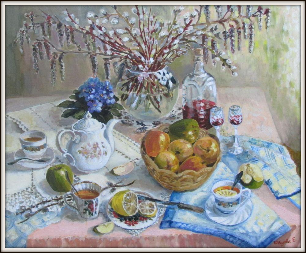 вербное воскресенье, православие, картина маслом, ярмарка мастеров, елена шведова