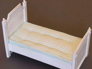 Шьем матрас для миниатюрной кровати: видео мастер-класс. Ярмарка Мастеров - ручная работа, handmade.
