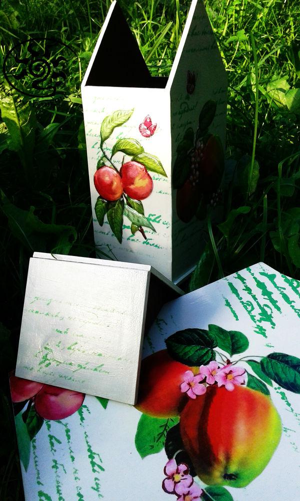 ягоды, чайный домик