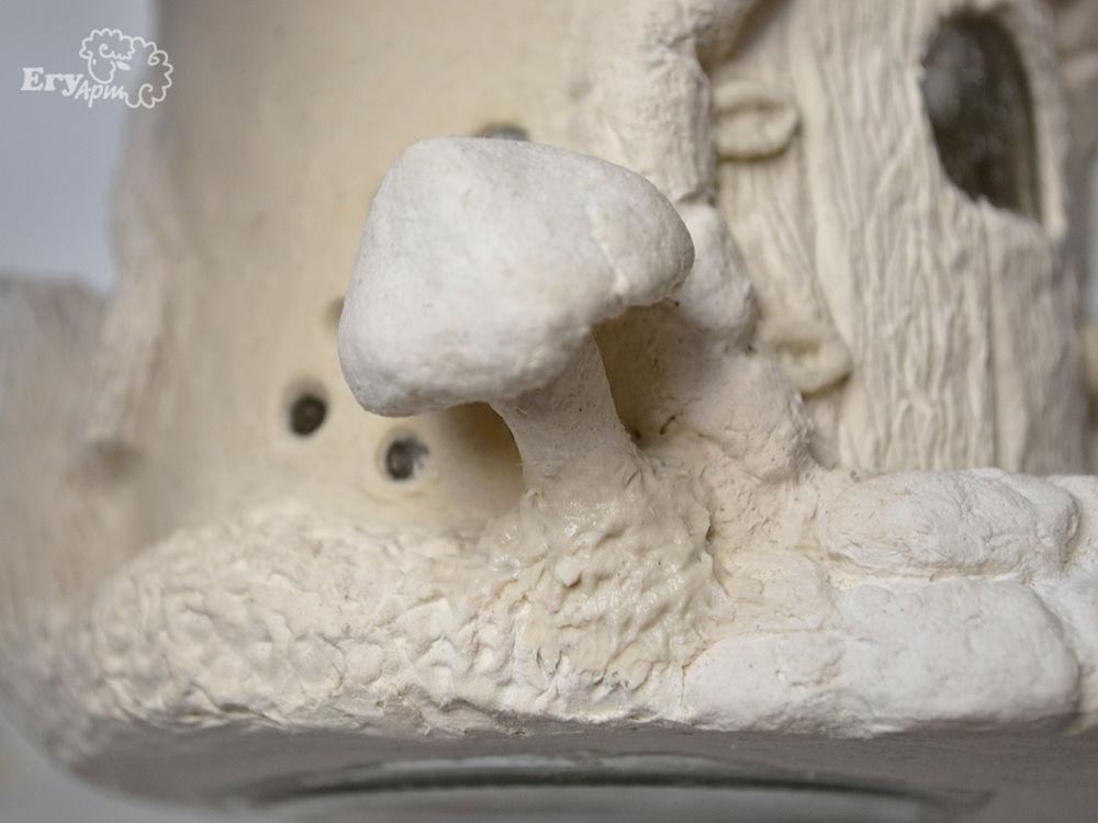 Лепим сказочный «Домик-мухомор», фото № 29