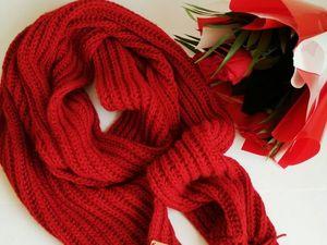 Большой шарф. Ярмарка Мастеров - ручная работа, handmade.