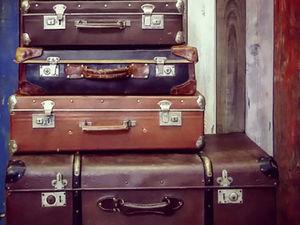 20 вариантов использования чемоданов для декора интерьера. Ярмарка Мастеров - ручная работа, handmade.