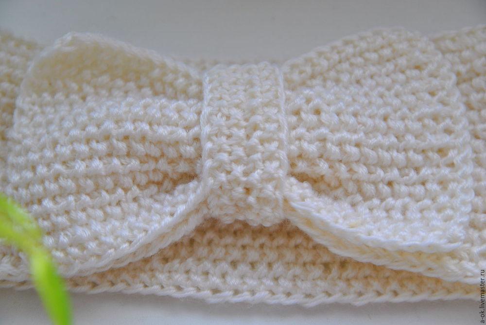 шапка, вязание