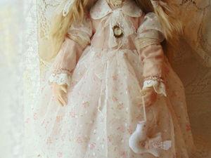 Скидка на Авторскую куклу Ангел Нежности. Ярмарка Мастеров - ручная работа, handmade.