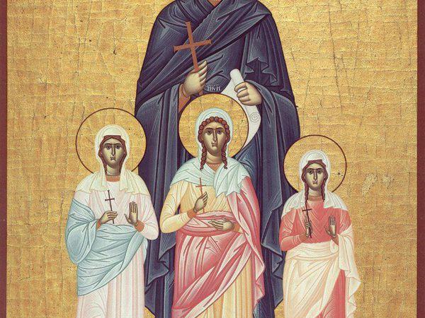 Сегодня почитаются великомученницы Вера, Надежда, Любовь и мать их Софья   Ярмарка Мастеров - ручная работа, handmade