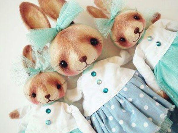 Акция на семью из 3 заек!! до 7.07 | Ярмарка Мастеров - ручная работа, handmade