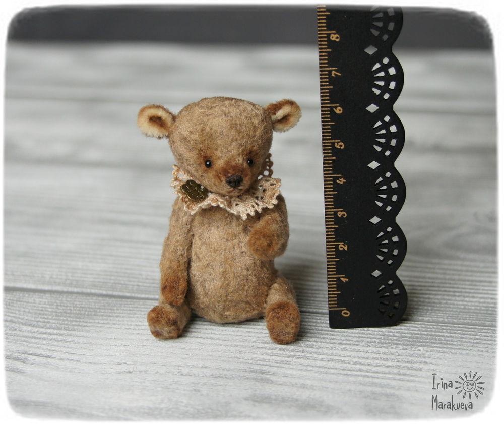 мишка ручной работы, плюшевый мишка, медвежонок