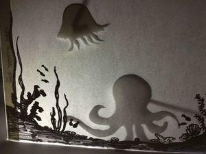 Делаем за 30 минут театр теней на тему «Подводный мир». Ярмарка Мастеров - ручная работа, handmade.