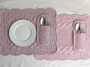 Кармашек для столовых приборов. Ярмарка Мастеров - ручная работа, handmade.