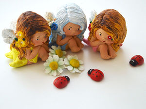 Новогодние шары с эльфочками. Ярмарка Мастеров - ручная работа, handmade.