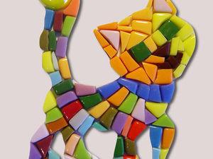 Покупателю, который здесь впервые - бонус: образцы выкладки мозаики.. Ярмарка Мастеров - ручная работа, handmade.