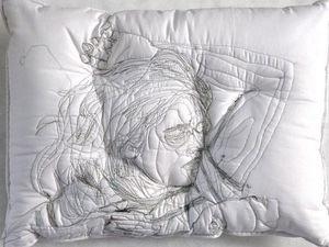 Погруженные в сон: вышивка на подушках Maryam Ashkanian. Ярмарка Мастеров - ручная работа, handmade.