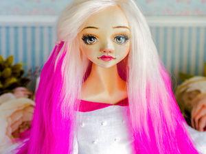 Роуз авторская кукла, интерьеоная кукла, коллекционная кукла, подарок любимой. Ярмарка Мастеров - ручная работа, handmade.