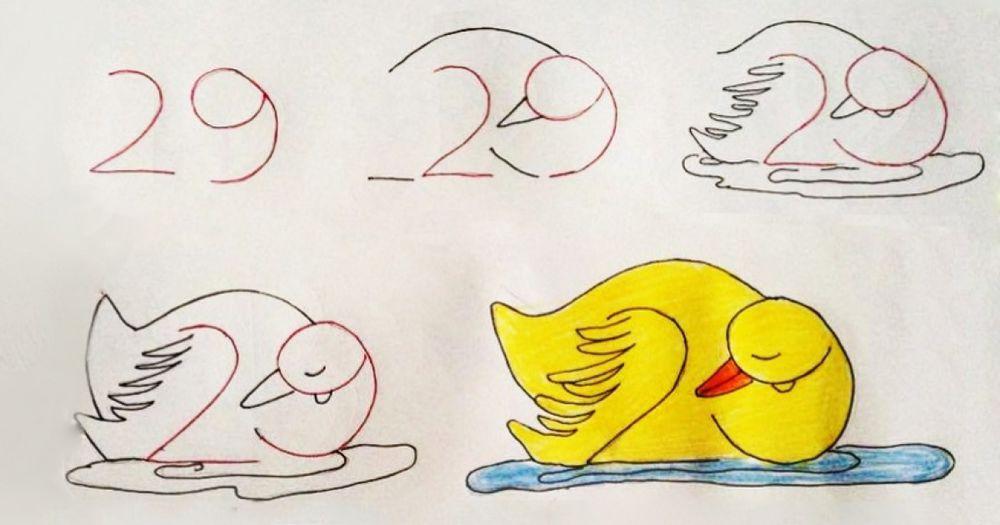рисунки, рисование для детей