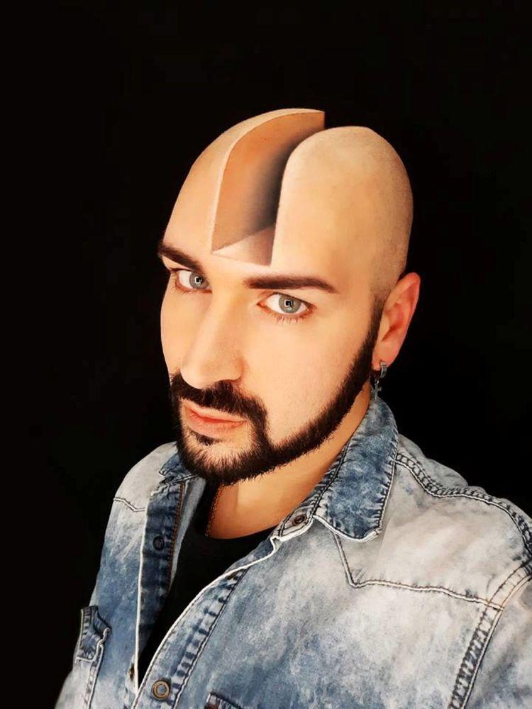 3D Make up художника Люка Лючи