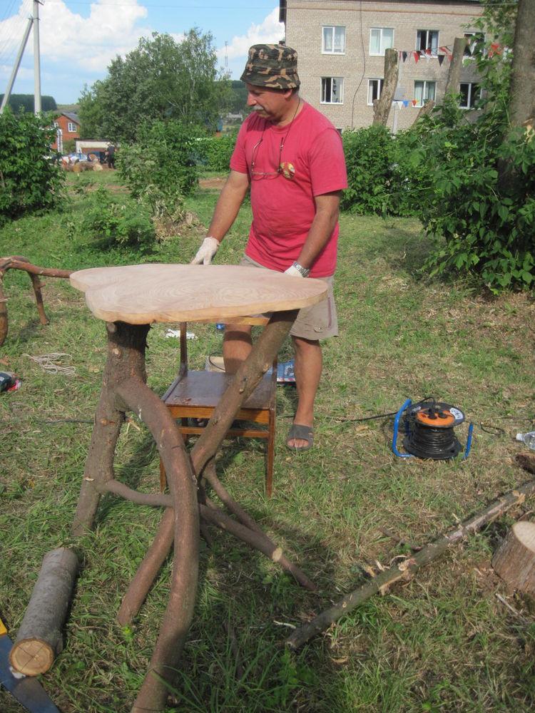 Об участии в международном фестивале деревянной скульптуры., фото № 9