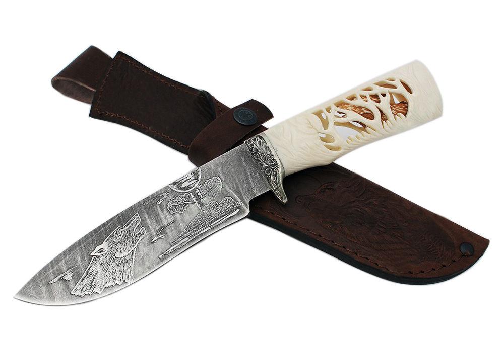 подарочный нож, сталь, подарок охотнику