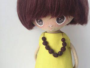 Кукла в наличии! Пока свободна! | Ярмарка Мастеров - ручная работа, handmade