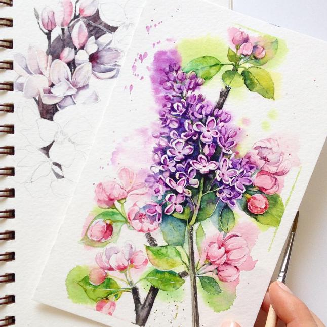 мастер-класс по живописи, рисование для взрослых, подарок