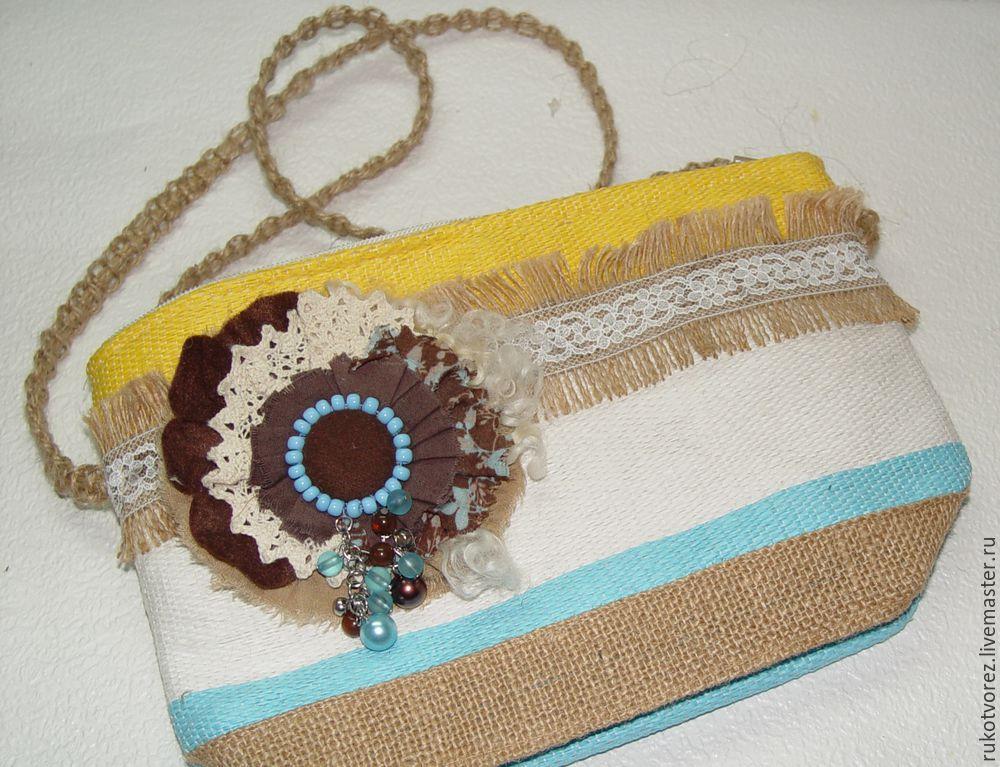 Переделываем летнюю косметичку в яркую сумочку, фото № 11