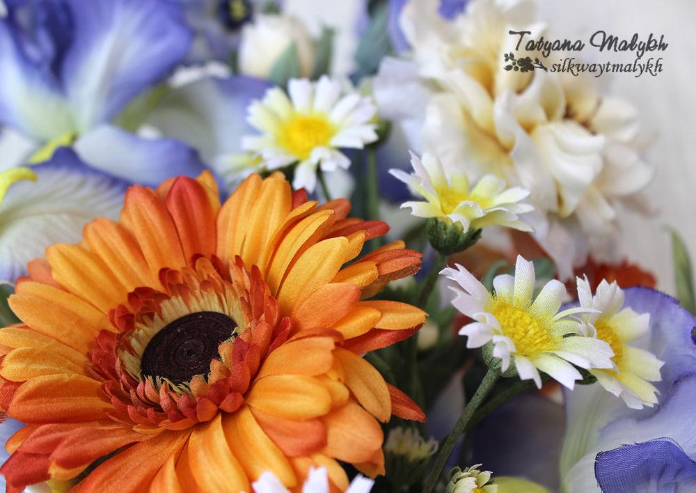 цветы из шёлка обучение, шелк обучение