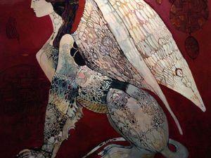 Волшебные картины Ольги Зелинской. Ярмарка Мастеров - ручная работа, handmade.