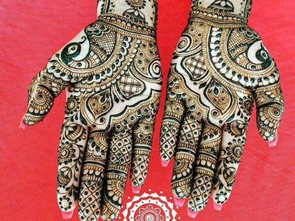 Джумки в мехенди | Ярмарка Мастеров - ручная работа, handmade