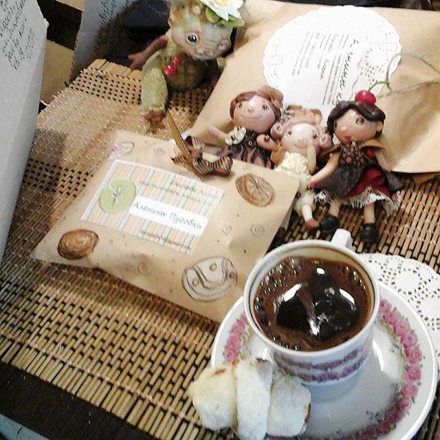 домой, почта, аленины куклы, аленины пуговки, куклы в подарок, купить куклу, чешечка кофе, в дорогу, упаковка