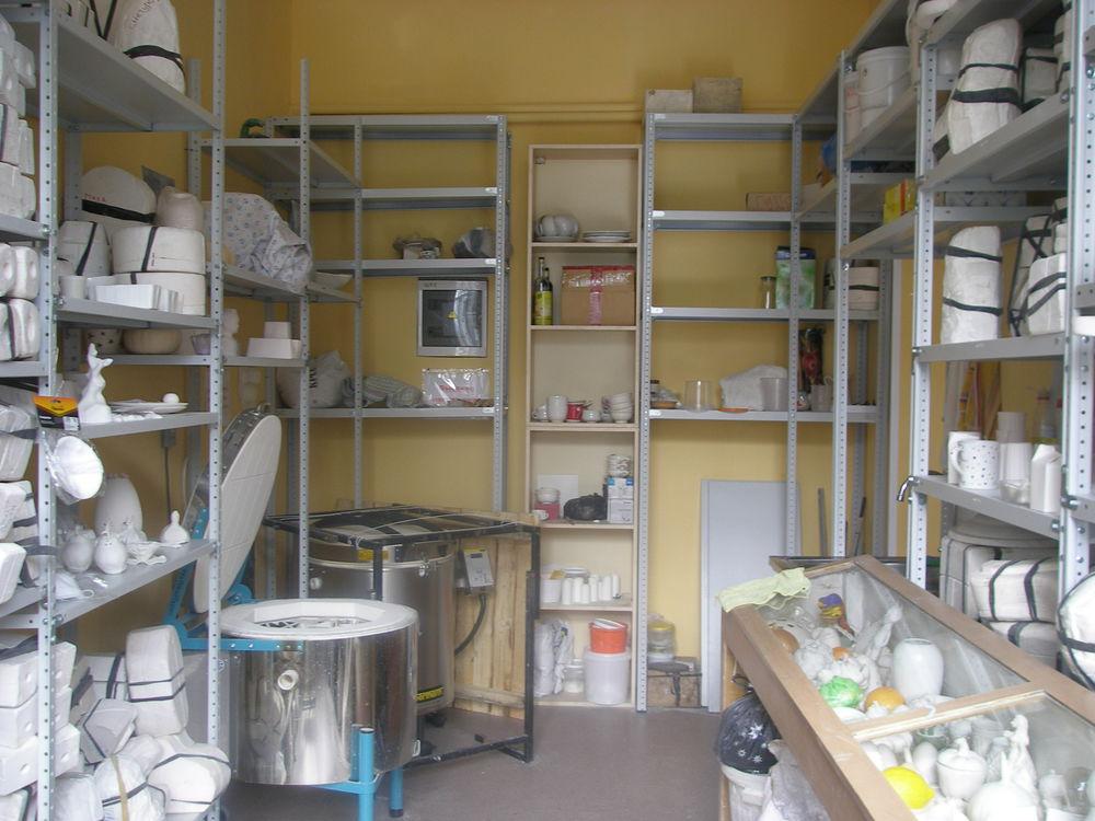 школа фарфора, печь в мастерской, дизайн фарфора