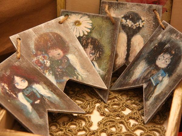 Хвастушки! Авторский декупаж. Новогодняя коллекция | Ярмарка Мастеров - ручная работа, handmade