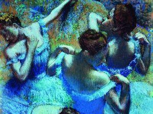 Тонкая грация балета в картинах Edgar Degas. Ярмарка Мастеров - ручная работа, handmade.
