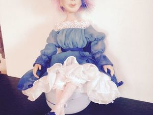 Образ куклы. Ярмарка Мастеров - ручная работа, handmade.