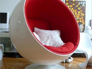 Известная мебель. Кресло Ball Chair. Ярмарка Мастеров - ручная работа, handmade.