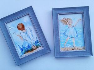 Кому счастья?Аукцион маленьких картин закрыт!. Ярмарка Мастеров - ручная работа, handmade.