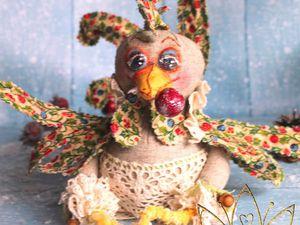 Петушок с вишенкой | Ярмарка Мастеров - ручная работа, handmade