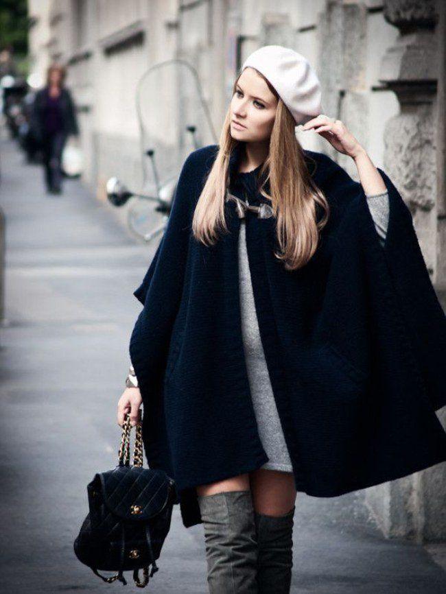 хотите просто серый берет и черное пальто фото постоянно ищет