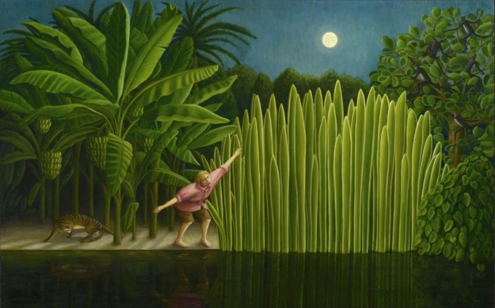Мифическое очарование работ художницы Хелен Флокхарт