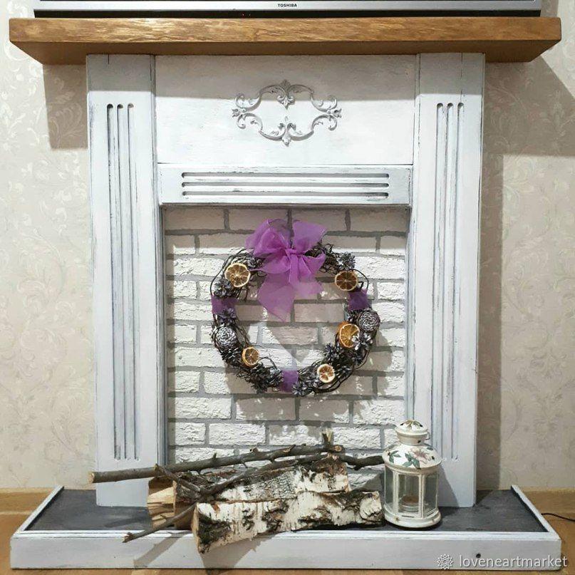 Декорируем фальш-камин своими руками, фото № 1